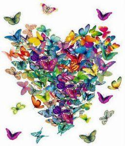 hart vlinder