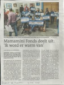 dagblad vh noorden mamaminifonds